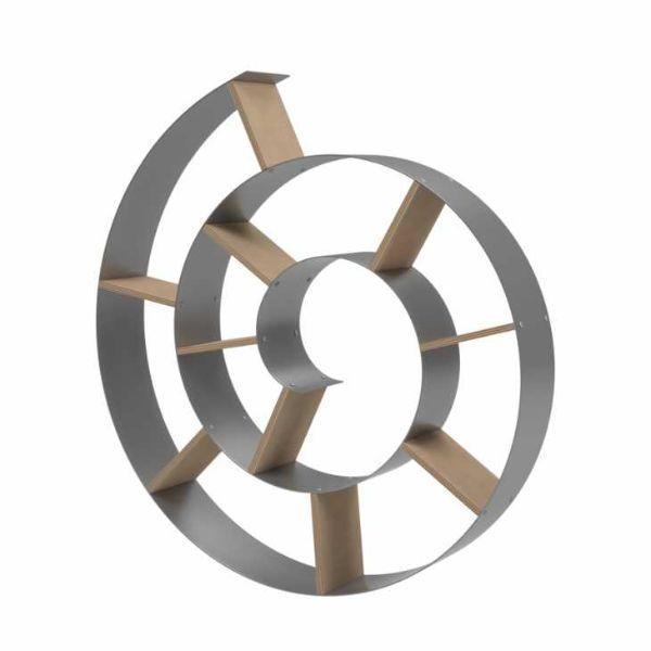 Libreria a spirale di Kare Design mod. Snail