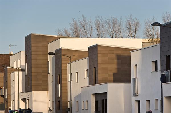 Retrofit quartiere Le Chemin Vert - Facciata ventilata cotto byTerreal