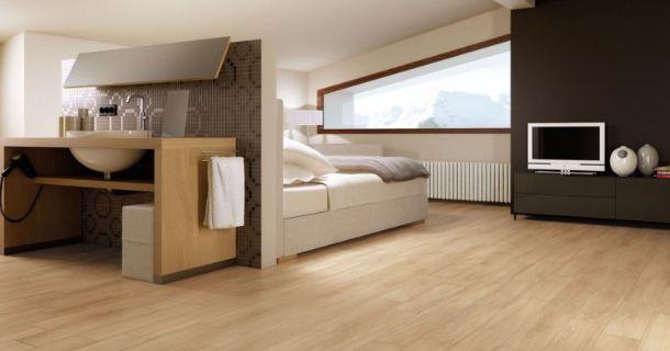 Parquet porcellanato effetto parquet Marca Corona serie Easy Wood