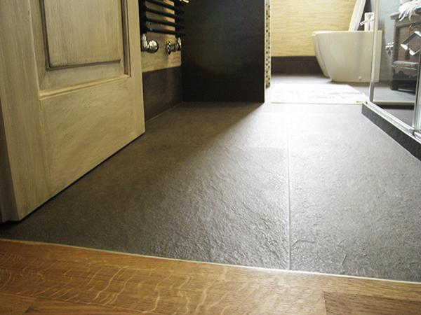 Come accostare pavimenti diversi for Idee di pavimento di mudroom