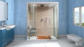 Trasformare la vasca in doccia con Doccia Amerika