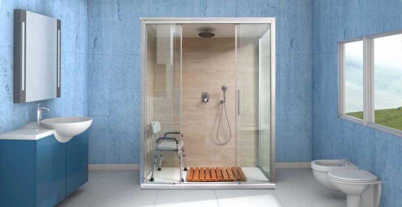 Docciamerika: conversione della vasca in doccia