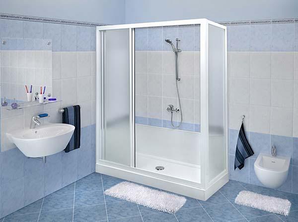 Trasformazione della vasca in doccia con Docciamerika
