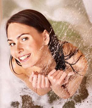 I benefici della doccia