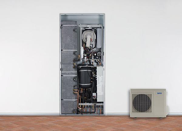 Sistema ibrido caldaia a condensazione con pompa di calore - CSI-i IN by BAXI