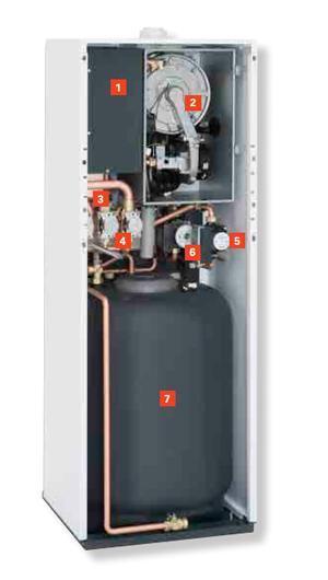 Sistema ibrido caldaia a condensazione con pompa di calore - Vitocaldens 222-F by Viessmann