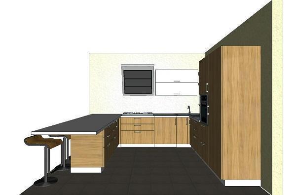 cucina a u: come progettarla - Isola Cucina Distanze