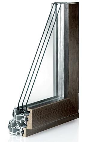 Serramenti termici in fibra di vetro - Serie 502 Fiber Inside di Agostini Group