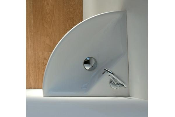 installazione di lavabo angolare 45 m2 di bagnoshop