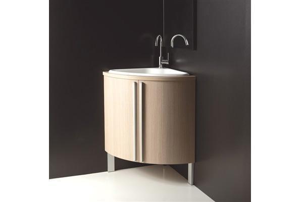 Lavabo ad angolo per bagni piccoli for Mobile angolare bagno
