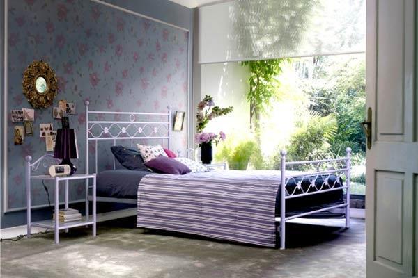 Esempio di letto alla francese modello Incanto di Letti Outlet