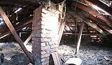 Come sostituire la struttura di un tetto in legno - Stato di fatto anteriore ai lavori - www.lacasapensata.it