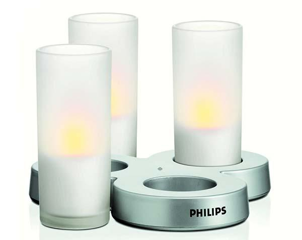 Lampada Imageo CandleLight di Philips.