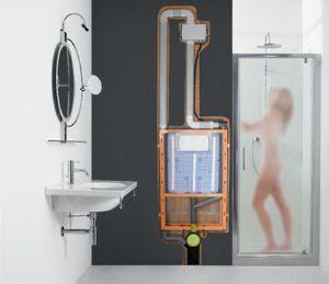 sistema di aspirazione odori e umidit dal wc zerodori