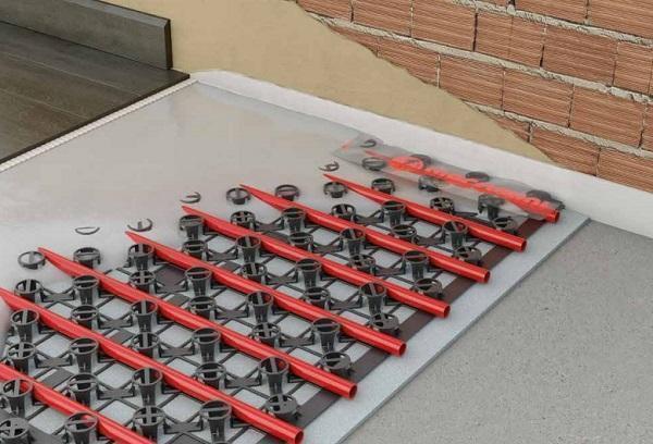 Climatizzazione radiante a basso spessore: Giacomini, Klima Renew