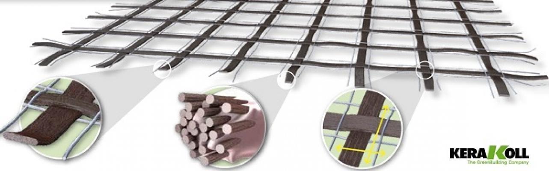 Reti in fibra di Basalto e acciaio di Kerakoll