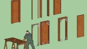 Rettifica delle porte in legno