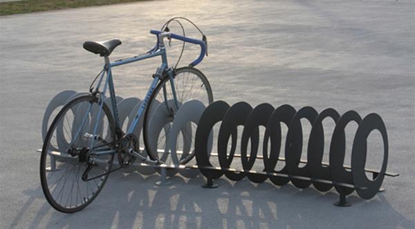 Rastrelliera per biciclette Ola, dell'Azienda CitySì.