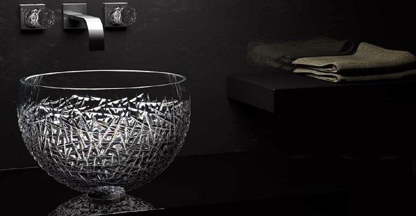 Sanitari novità a Cersaie: Glass Design, Moon Over Ice