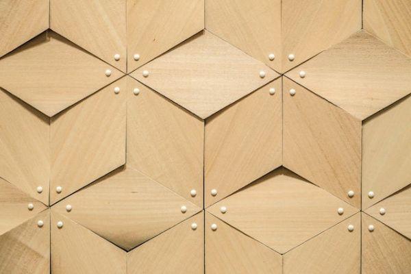 Dettaglio facciata biomimetica idroreattiva di Chao Chen