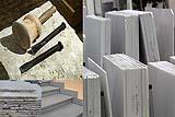 Rivestimenti e lavorazioni usuali in pietra e marmo