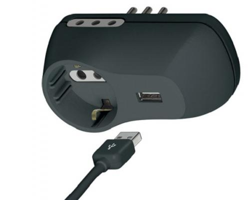 Presa di corrente con porta USB di BTicino