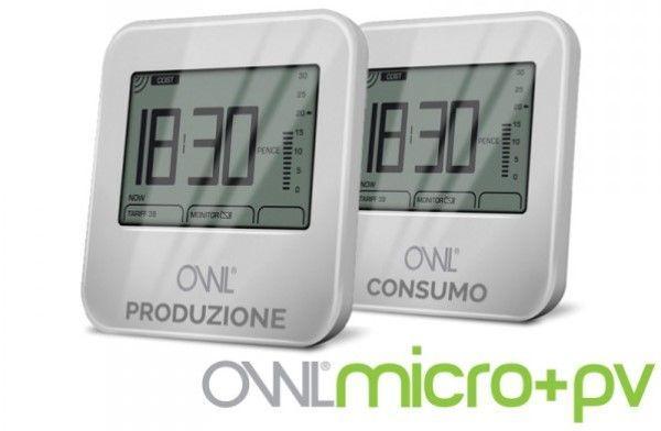 Misuratore di consumi OWL Micro +