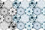 Piastrelle esagonali ispirate alle forme naturali, una proposta dell'Azienda