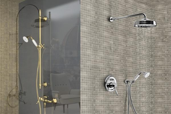 Il miscelatore doccia pratico e funzionale - Doccia con tubi esterni ...