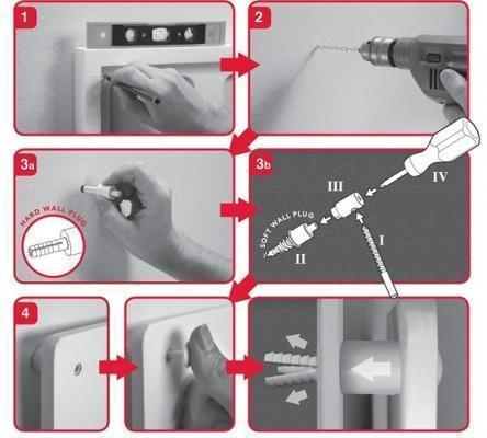 Montaggio dei pannelli radianti ultrasottili elettrici di eHeater