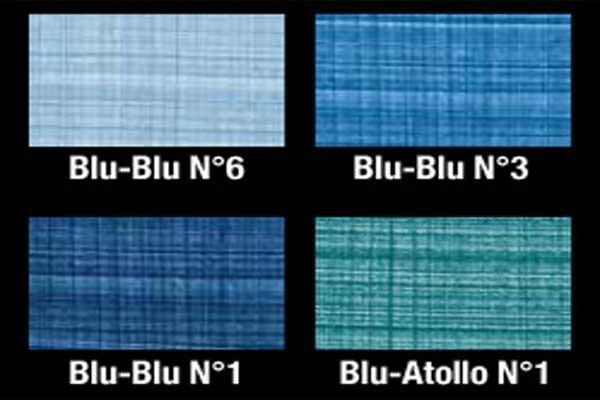 Tonalità di pittura effetto denim Iris Color
