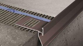 Gocciolatoi in alluminio impermeabilizzanti per balconi e terrazze