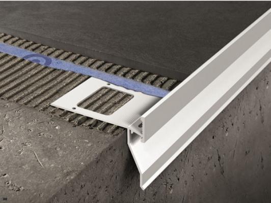 Profilo protettivo in alluminio per balcone di Progress Profile