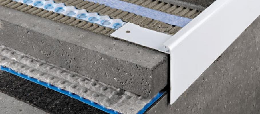 Tipo di profilo protettivo in alluminio per balcone di Progress Profile