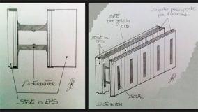Costruire muri con i casseri a perdere in EPS