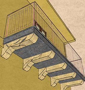 Mobili lavelli mensole balconi moderni - Tasselli in legno per mobili ...