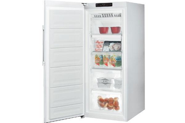 Freezer verticale con sistema no frost