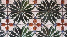 Decorazione tradizionale delle piastrelle