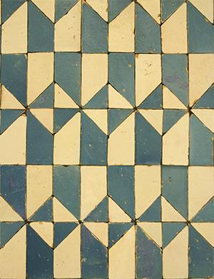 Metodi arcaici di decorazione delle piastrelle - Metodo della Faiança nella Biblioteca di Porto - Arch. Luca Maioli