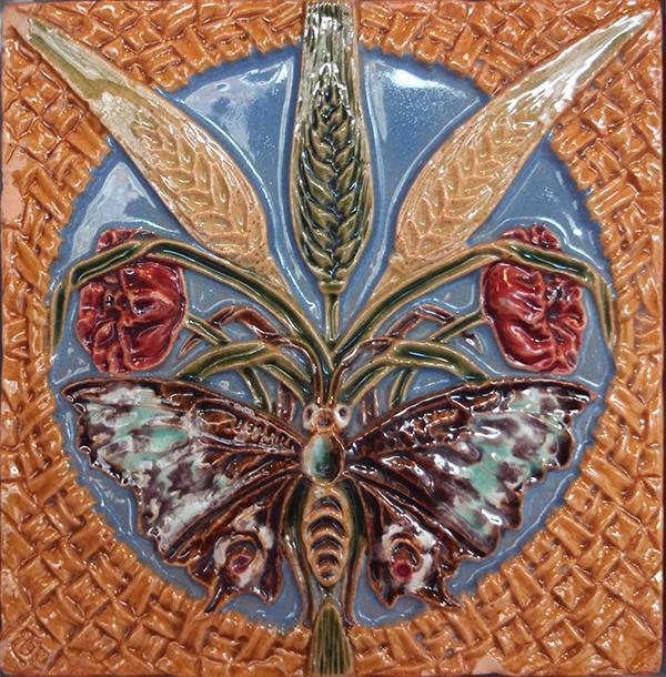 Metodi arcaici di decorazione delle piastrelle - Rafael Bordalo Pinheiro - Arch. Luca Maioli