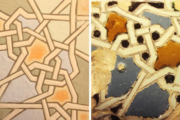 Metodi arcaici di decorazione delle piastrelle - Tecnica della corda seca - Arch. Luca Maioli
