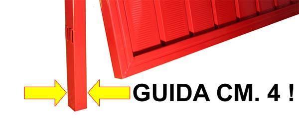 Guida della porta da Garage di Officine Locati