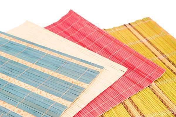 Foto tappeti in bamboo per arredare - Tappeti in bamboo ...