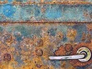 Immagine di Paramatti rappresentante l'acciaio zincato corroso