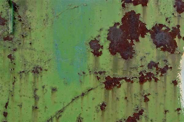 Immagine Paramatti di acciaio arrugginito