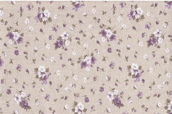Tessuto Provence Lila de La Maison d'Elise