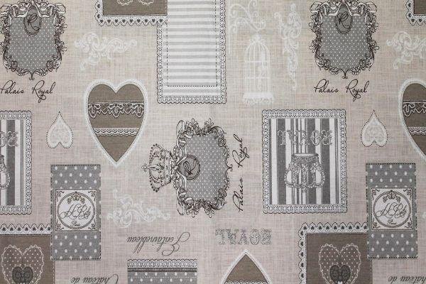 Tessuto Shabby Grey de la Maison d'Elise