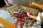 Cucitura del tessuto per la realizzazione dei cuscini fai da te