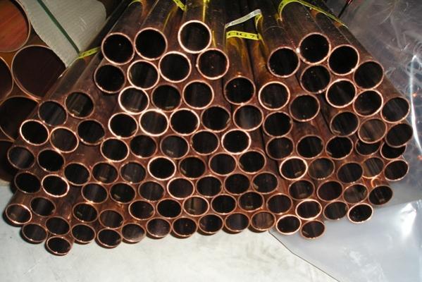 Tubi di rame: incombustibili e resistenti