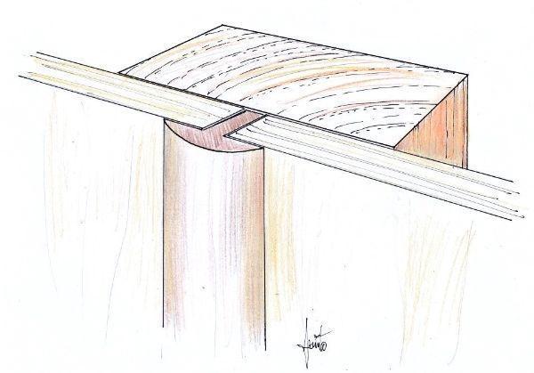 Cornici coprigiunti come rifinitura tra i pannelli a parete